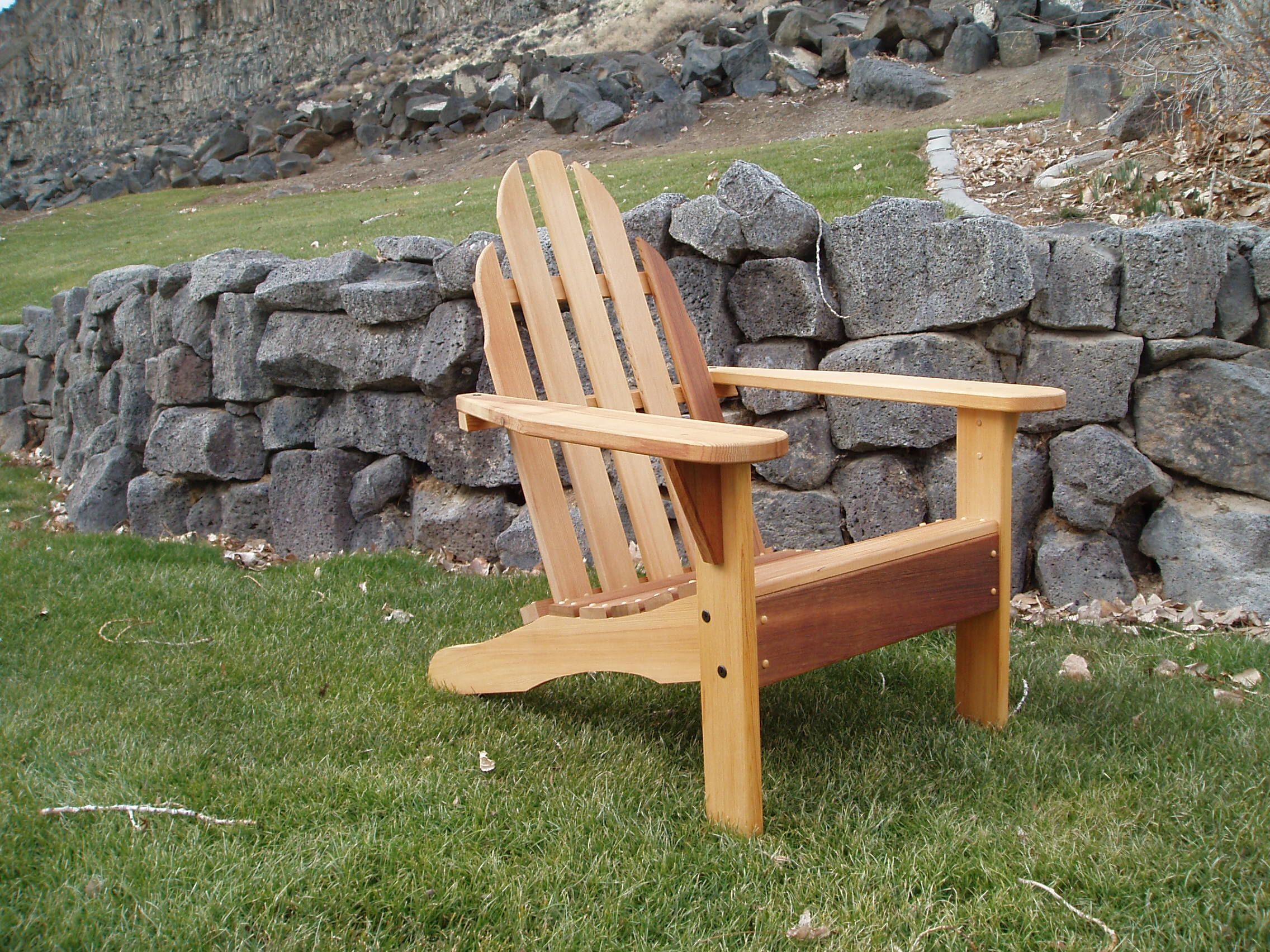 ADIRONDACK CHAIR FEATURES Wood Country