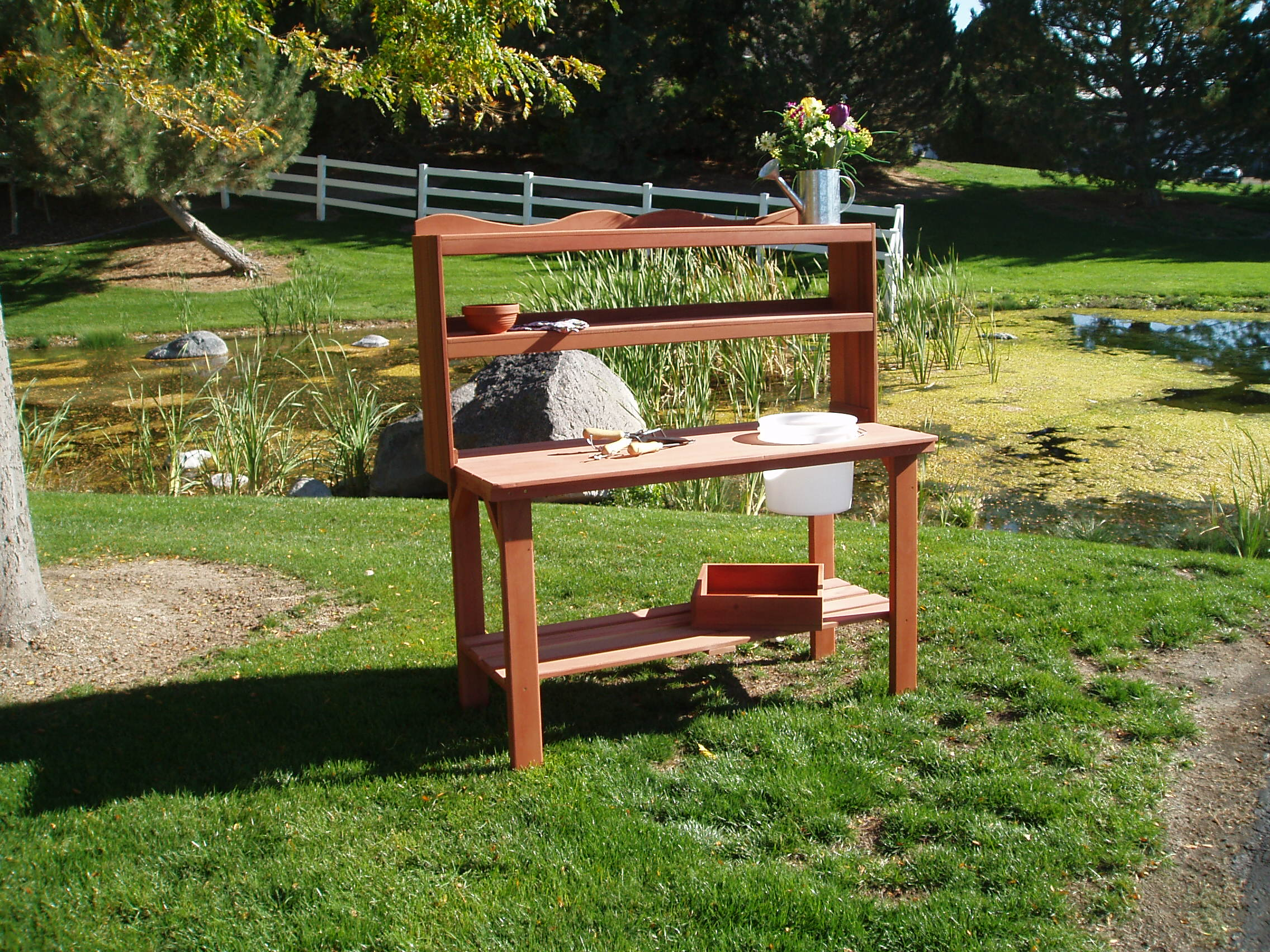 10 Fun Facts About Potting Benches Wood Country