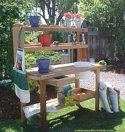10 fun facts about potting benches wood country 1 a potting bench workwithnaturefo